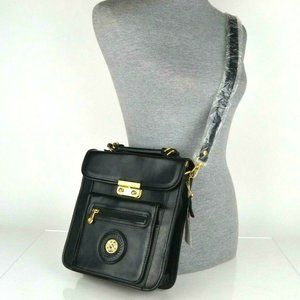 NEW Vintage Chenson Alexander Black Crossbody Bag